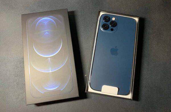 iPhone 12 Pro Max Bleu Pacifique