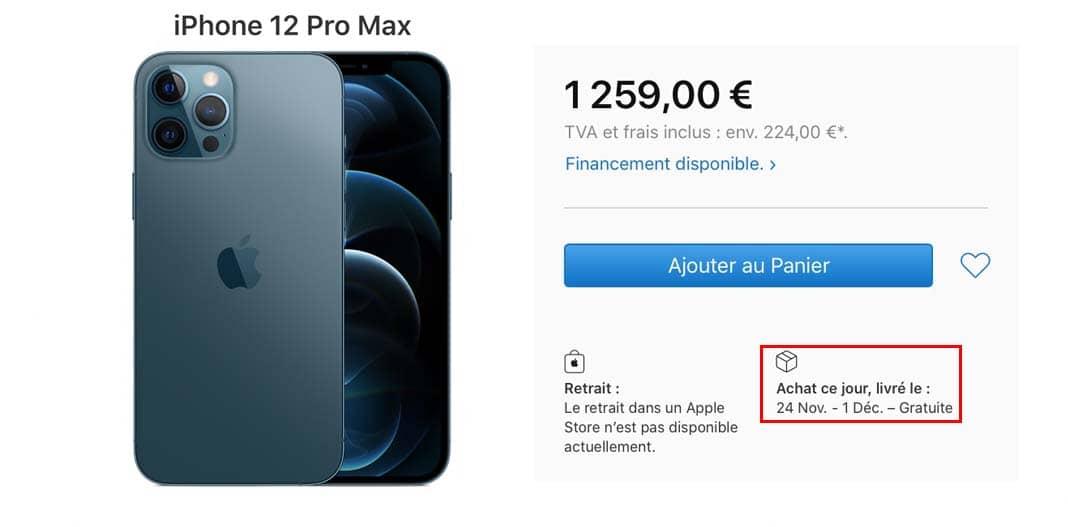 Iphone 12 Pro Max Dec