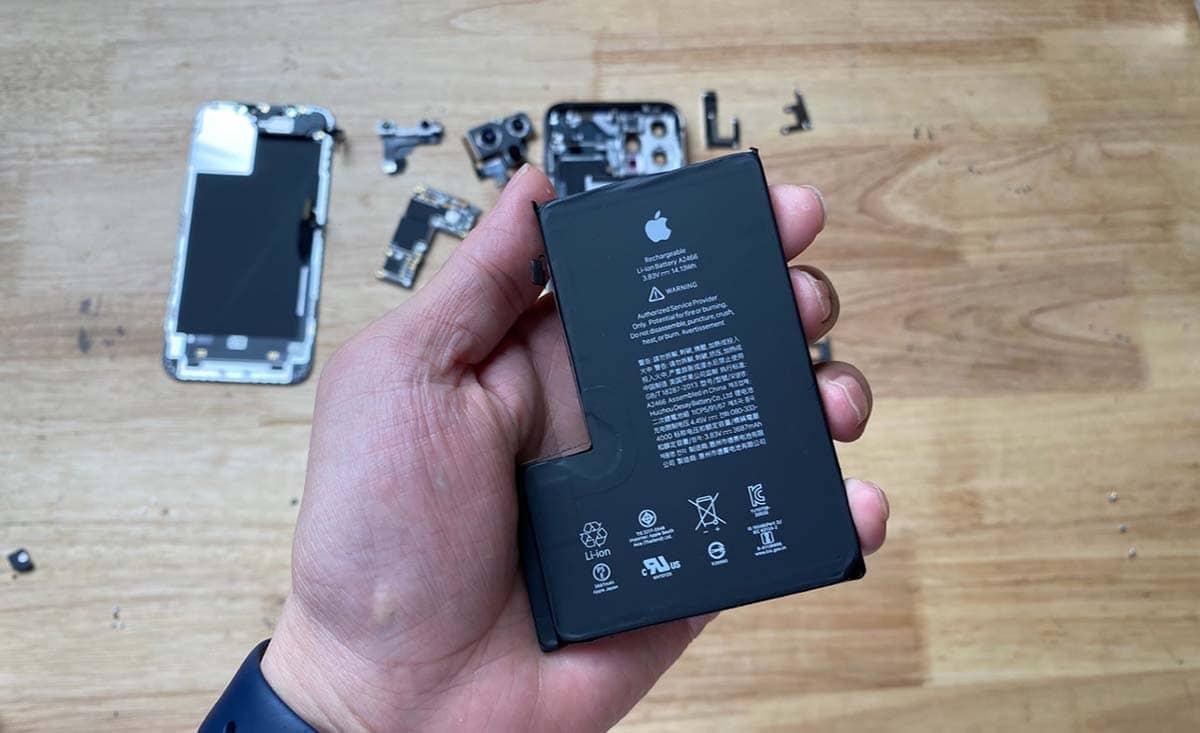 Iphone 12 Pro Max Demontage