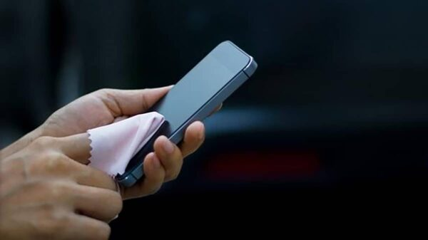 Nettoyage Smartphones Covid