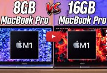 Performances Macbook Pro M1 8go Vs 16go Ram 4