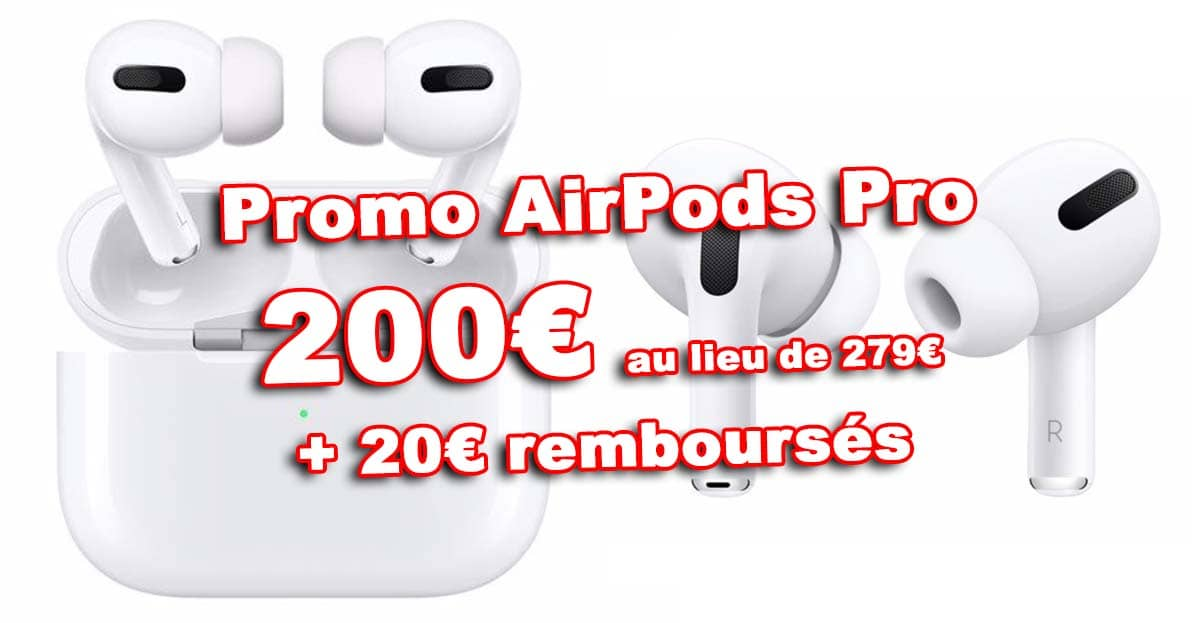 Promos Airpods Pro 200e N20