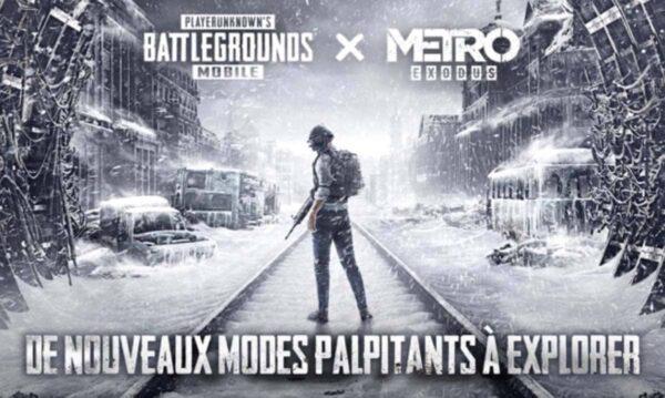 PUBG Mobile x Metro