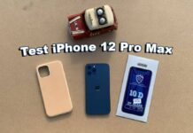 Test Iphone 12 Pro Max