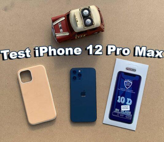 Test Iphone 12 Pro Max