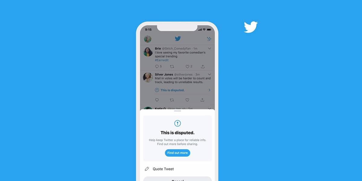 Twitter Alerte Infox