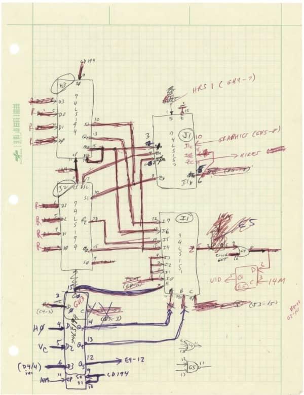 Apple Ii Schemas Wozniak Encheres 2