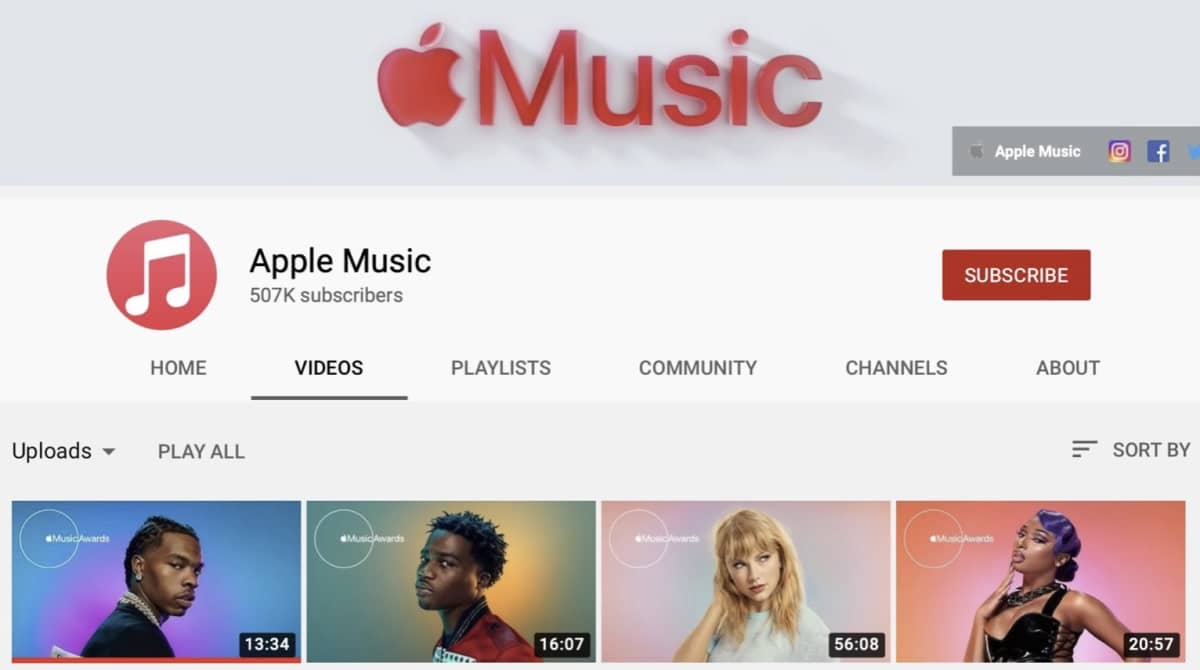 Apple Music Awards 2020 Videos