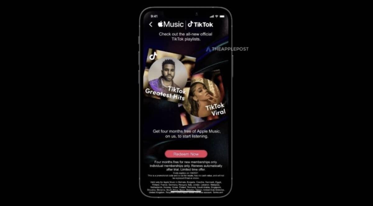 Apple Music Tiktok