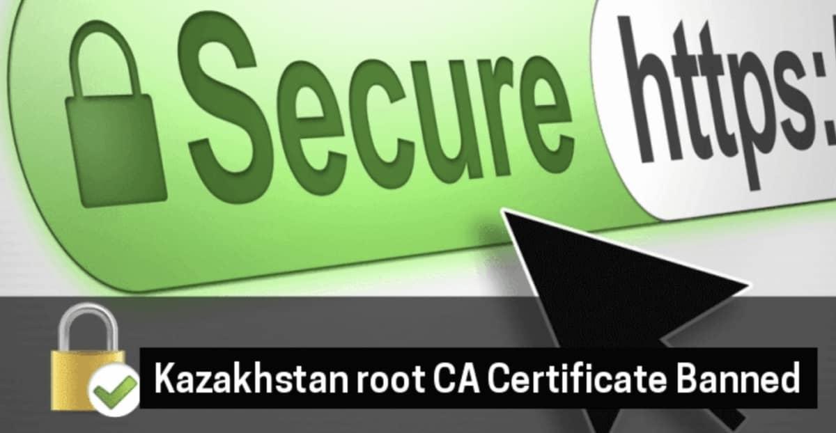Certificat Kazakhstan