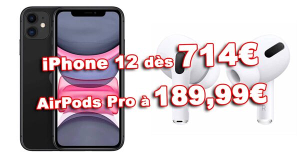 Promos Airpods iPhone 12