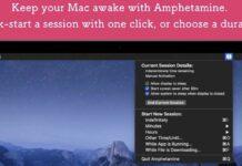 Amphetamine Mac App Store