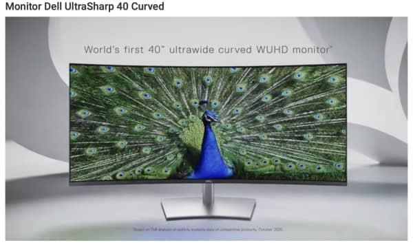 Moniteur Incurve Dell Ultrasharp 40