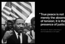 Apple Tim Cook Martin Luther King Jr