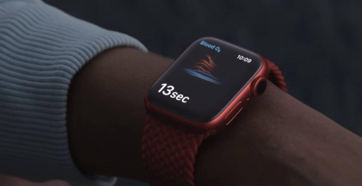 Apple Watch Series 7 Glycemie