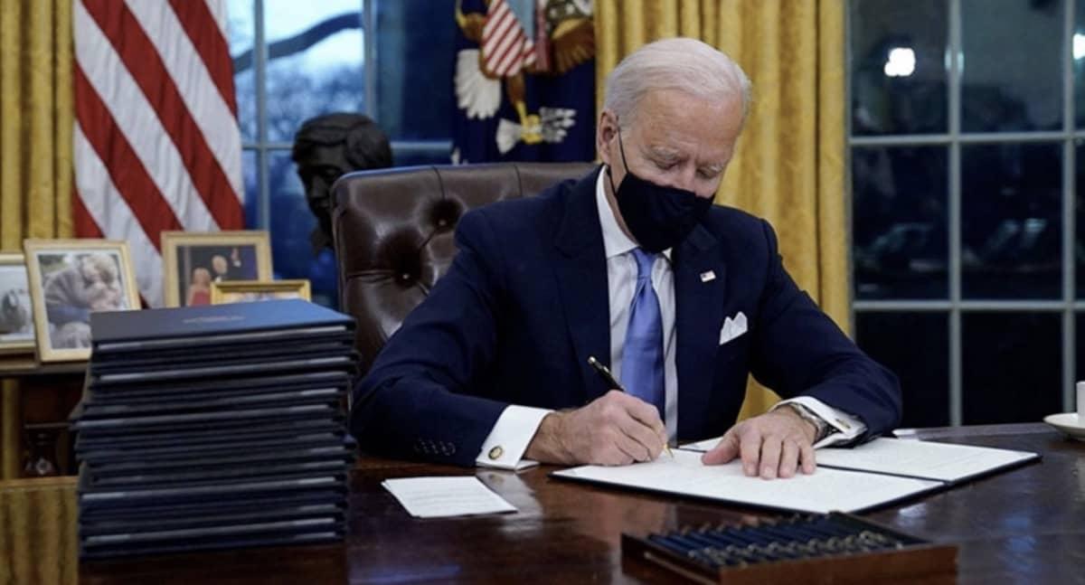 Joe Biden Bureau Oval