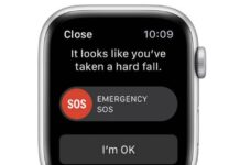Sos Apple Watch Cycliste