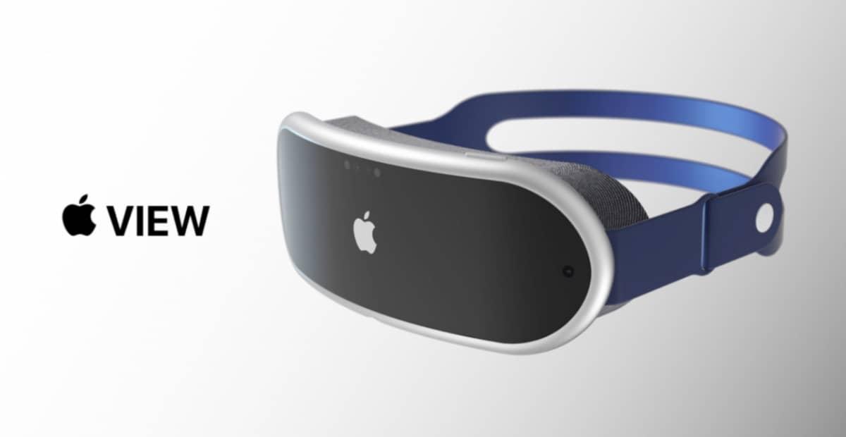 Apple View Concept Casque Ar Apple 3