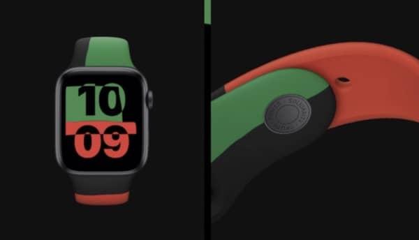 Apple Watch Series 6 Black Unity 3