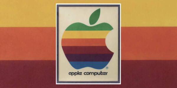 enseigne apple computer originale encheres