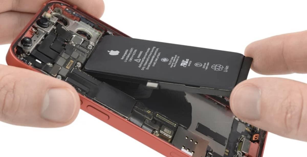 iphone 12 mini batterie