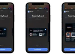 Shazam Widget Iphone