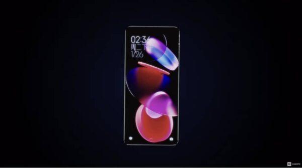 Xiaomi Concept Ecran Incurve