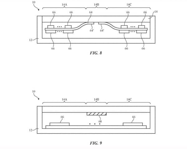 brevet apple iphone pliable