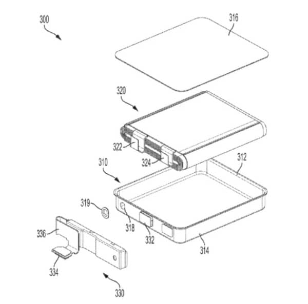 batterie iPhone, brevet Apple