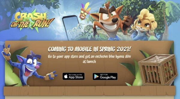 crash bandicoot on the run app store