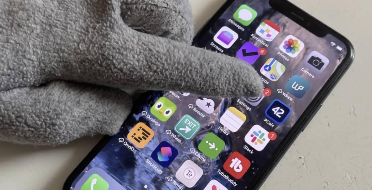 gants iphone brevet apple
