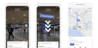 google maps navigation interieure ar 2