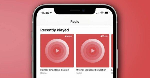 Apple Music, stations de radio