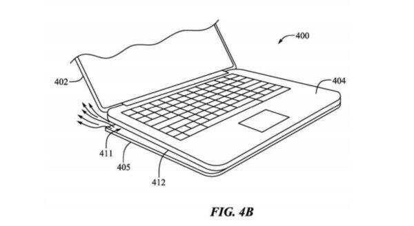 MacBook, pieds amovibles