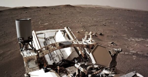 rover Perseverance, NASA, iMac G3