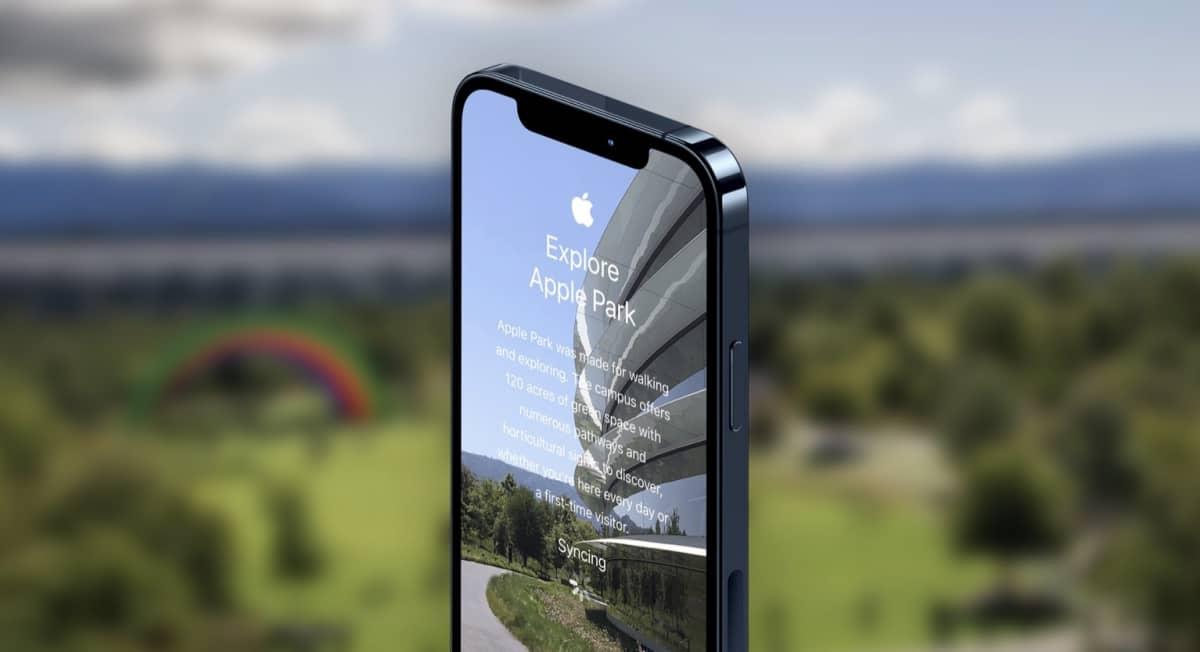 apple park tour app