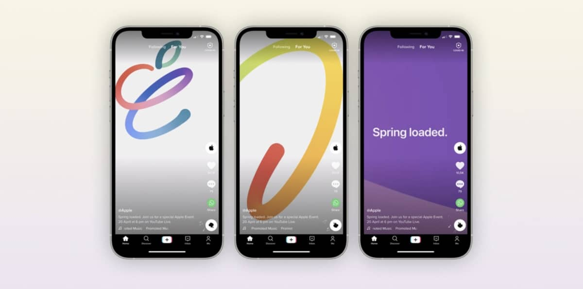 apple spring loaded a21