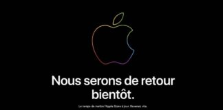 apple store ferme a21