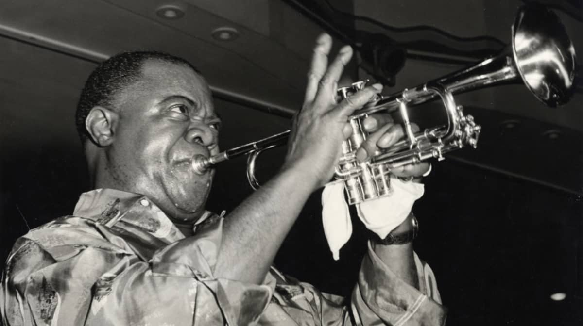 black blues the colorful ballad of louis armstrong