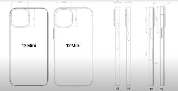 cad iphone 13 pro mini