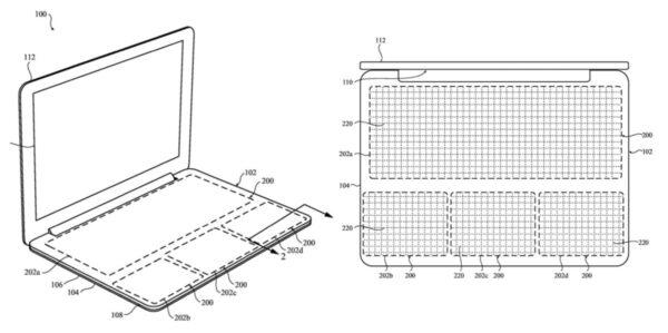 clavier semi conducteurs reconfigurable macbook