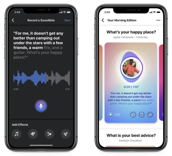 facebook podcasts rival clubhouse 4