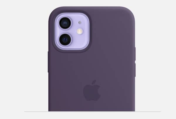 iphone 12 mauve coque