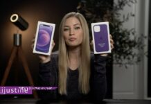 ijustine iphone 12 mauve
