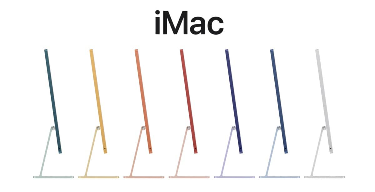 imac m1 couleurs apple store