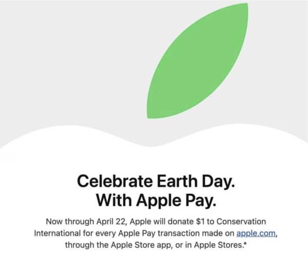 Jour de la Terre, Apple