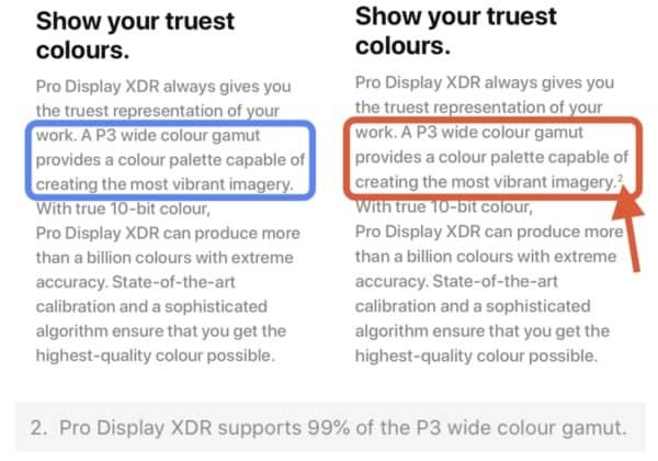 pro display xdr p3