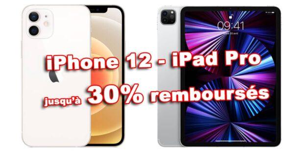 promos iphone 12 ipad pro 30 a21