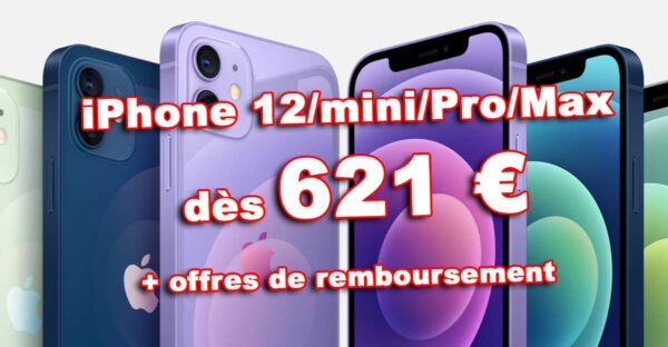 promo iPhone 12, iPhone 12 Pro Max, iPhone 12 pas cher, bon plan iPhone 12