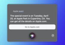 siri special event apple 21